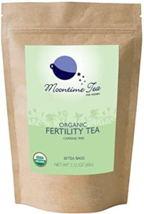 organic tea for fertility