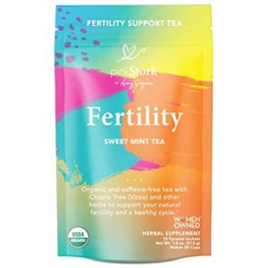 sweet mint fertility tea